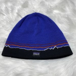 Patagonia Blue Knit Winter Hat Beanie